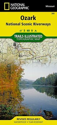 Ozark National Scenic Riverways Trails Illustrated National Parks 9781566953597