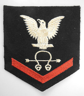 AUTHENTIC WWII US NAVY RATE, SONARMAN 3RD CLASS (SoM3c)