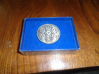 Smith And Wesson Belt Buckle, 44 Magnum 1981 New