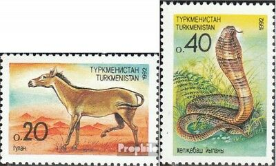 turkmenistan 2-3 (complete.issue.) unmounted mint / never hinged 1992 Flora