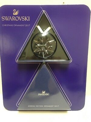 SWAROVSKI Annual Edition Ornament 2017, Crystal Snowflake, NEW