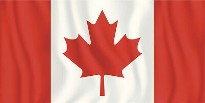 Canada  National Flags All Weather Polyester with Brass Grommets 3 X 5 Ft