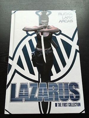 LAZARUS - The First Collection US-HC Oversized Deluxe Hardcover Image Comics