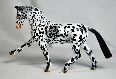 Custom Breyer Stablemate Dressage Horse Customized Leopard Appaloosa NR PPD
