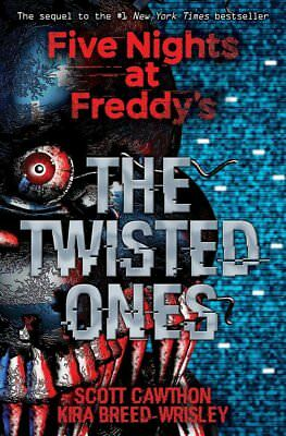 Twisted Ones FNAF Kids Mystery Fiction Fantasy Freddy's Paperback Birthday Gift