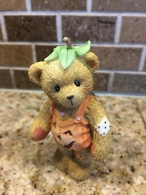 Cherished Teddies 2000 Adelaide Halloween pumpkin costume