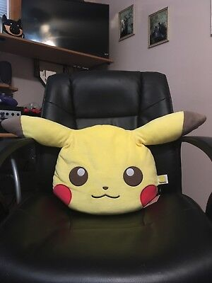 POKEMON I Love PIKACHU Face Cushion Pillow BANPRESTO UFO Prize Toreba