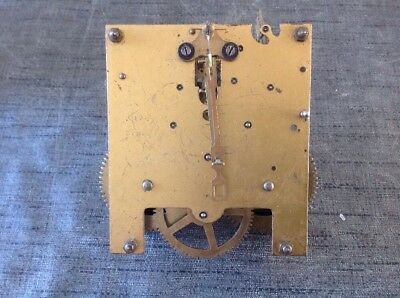 Antique Clock Movement Suspension Hanger Leader Untested Repair Or Spare Parts