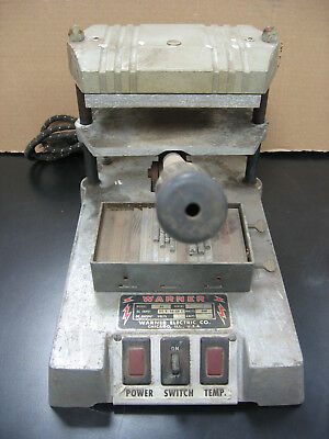Warner Electric Hot Foil Stamping Embossing Heat Press Machine WITH Letters!