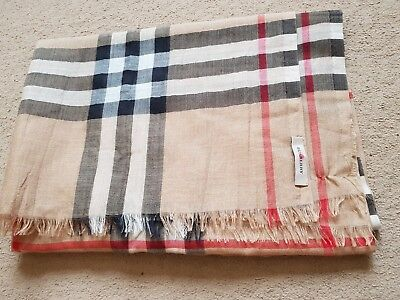 Womens Burberry Scarf Shawl