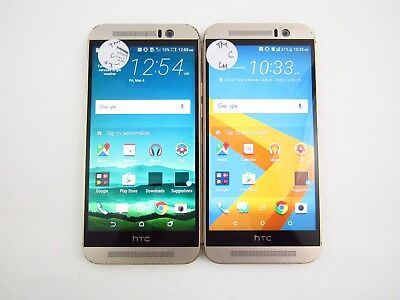 Lot of 2 HTC One M9 OPJA120 T-Mobile Check IMEI Grade C 3-059