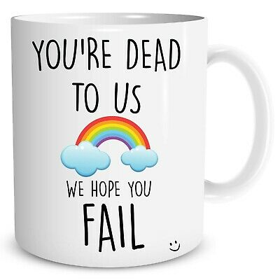 Leaving Gift Colleague Funny New Job Present Work Office Coffee Cup WSDMUG1254