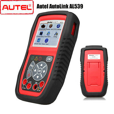 Autel AL539 Diagnostic Scanner Tool Car Auto Scan Engine OBD2 Fault Code Reader