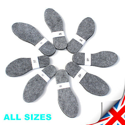 Felt Shoes Insoles Inner For Boots, Shoes - Mens, Ladys, Unisex - All Sizes