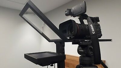 Ikan PT2000 traditional through-the-glass teleprompter