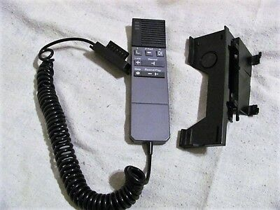 Dictaphone 860077 Black Mic For 2710 2720 2730 3710 3720 With Docking Cradle