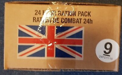 Army Surplus 24Hr Ration Pack Mre Airsoft Hiking Fishing Cadets Survival