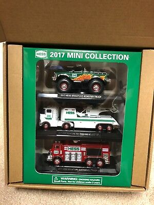 2017 Hess Mini Truck Collection - Never Opened, Still in Original Packaging