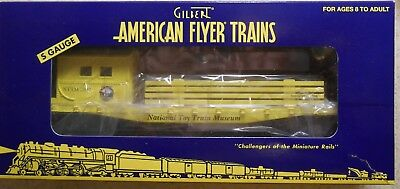 American Flyer S Gauge Toy Train Museum Idler  Work Train Caboose--Item #6-48247