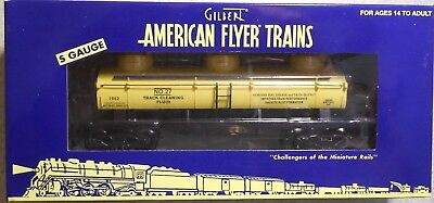 American Flyer S Gauge No.27 Tank Fluid 3-Dome Tank Car--Item #6-48440--Nib