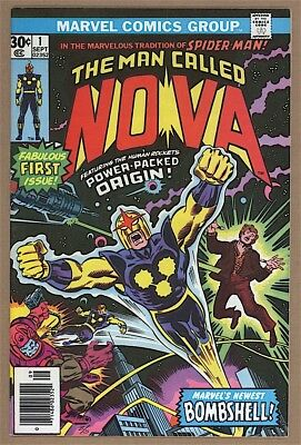 Nova #1 NM- Marvel 1976 1st Nova