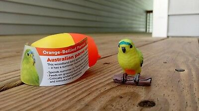 YOWIE WORLD Rescue Series Orange-Bellied Parrot