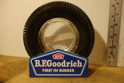 "Stand Rack for vintage 6"" BF Goodrich Tire Ashtray Man Cave Gift"