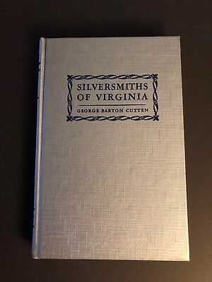 SILVERSMITHS of VIRGINIA Watchmakers Jeweler 1694-1850 Antique Silver Marks Book