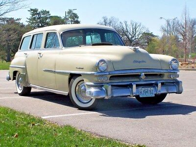 1953 Chrysler Town & Country  1953 Town & Country Station Wagon,  6 Cylinder, Fluid Drive Original