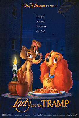 Disney's Lady and the Tramp - HD Digital code - Movies Anywhere - ONLY