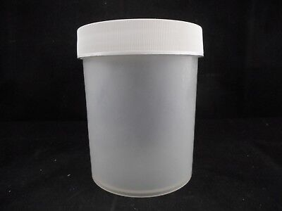 NALGENE Plastic 1000mL Straight Side Wide Mouth PP Jar 120mm PP Screw Closure