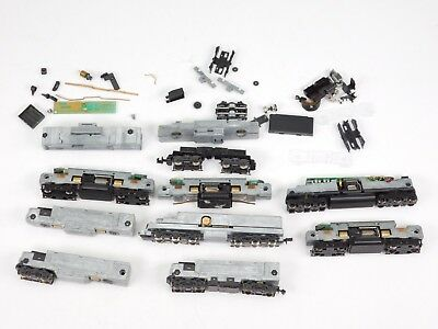 N Scale LOT of Assorted Drives Chassis Parts for Diesel Locomotives - NO SHELLS
