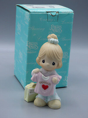 """Precious Moments """"Wishing You a Birthday Fit for a Princess"""" 108534 New"""