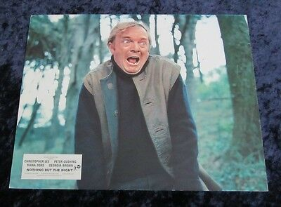 Nothing But The Night lobby card # 1 PETER SASDY (1973)