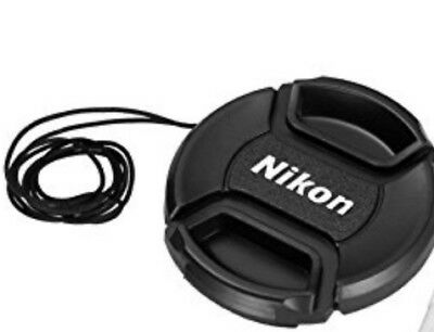 NEW 52mm Snap-on Lens Cap Cover Nikon D3200 D3300 D7100 Photo Camera Pro Gear