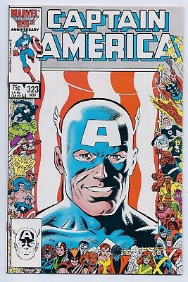 Captain America 323 NM+ 9.6 Copper Age 1st Appearance of New Super Patriot