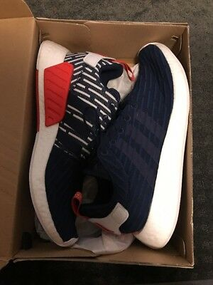ADIDAS NMD R2 PK Collegiate Navy BB2952 11.5 USED -  125.00  990954770