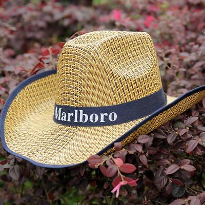 straw sunhat men and women curled letter sunshade fishing hat