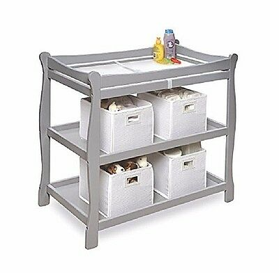 Changing Table Dresser Organizer Baby Furniture Diaper Daycare Nursery Infant