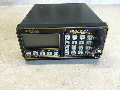 ROSS DSC-500 Commercial Ship Marine VHF Radio Secure Digital Selective Calling