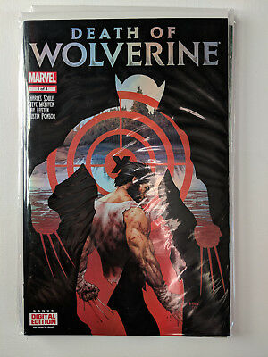 Death Of Wolverine No. 1, 2, 3, 4 Foil Covers NM Set 2017 Marvel