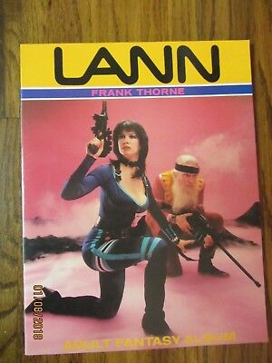 Lann Frank Thorne Adult Fantasy Album 1986  Ken Pierce Books