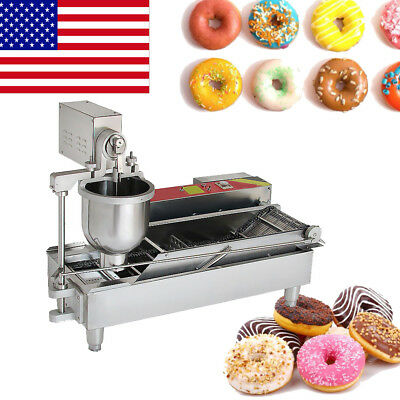 Commercial Auto Donut Maker Making Machine With Stainless Steel 3Size Mold FDA