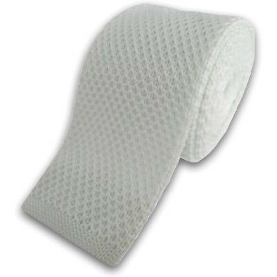 Equetech Knitted Waffle Womens Accessory Tie - White One Size