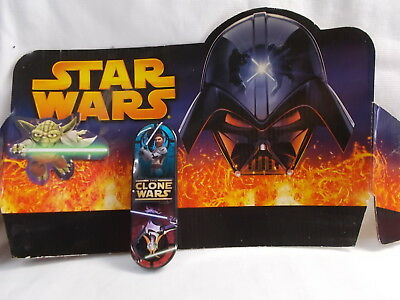 Star Wars - The Clone Wars Metal Tin Pencil Case - Never Used