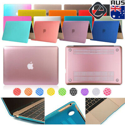 "Rubberized/Crystal Clear Hard Case+Keyboard Cover for New MacBook Retina 12""Inch"