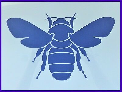 A4 Flexible Stencil *LARGE BUMBLE BEE* Painting Embossing Crafts
