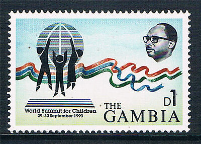 Gambia 1991 World Summit for Children SG 1096 MNH
