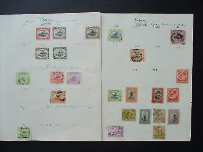 ESTATE SALE: Papua Collection on pages - FREE POST (2517)