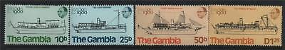 Gambia 1980 London 1980 SG 436/9 MNH